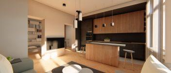 P7 Bubenská – interiér bytu