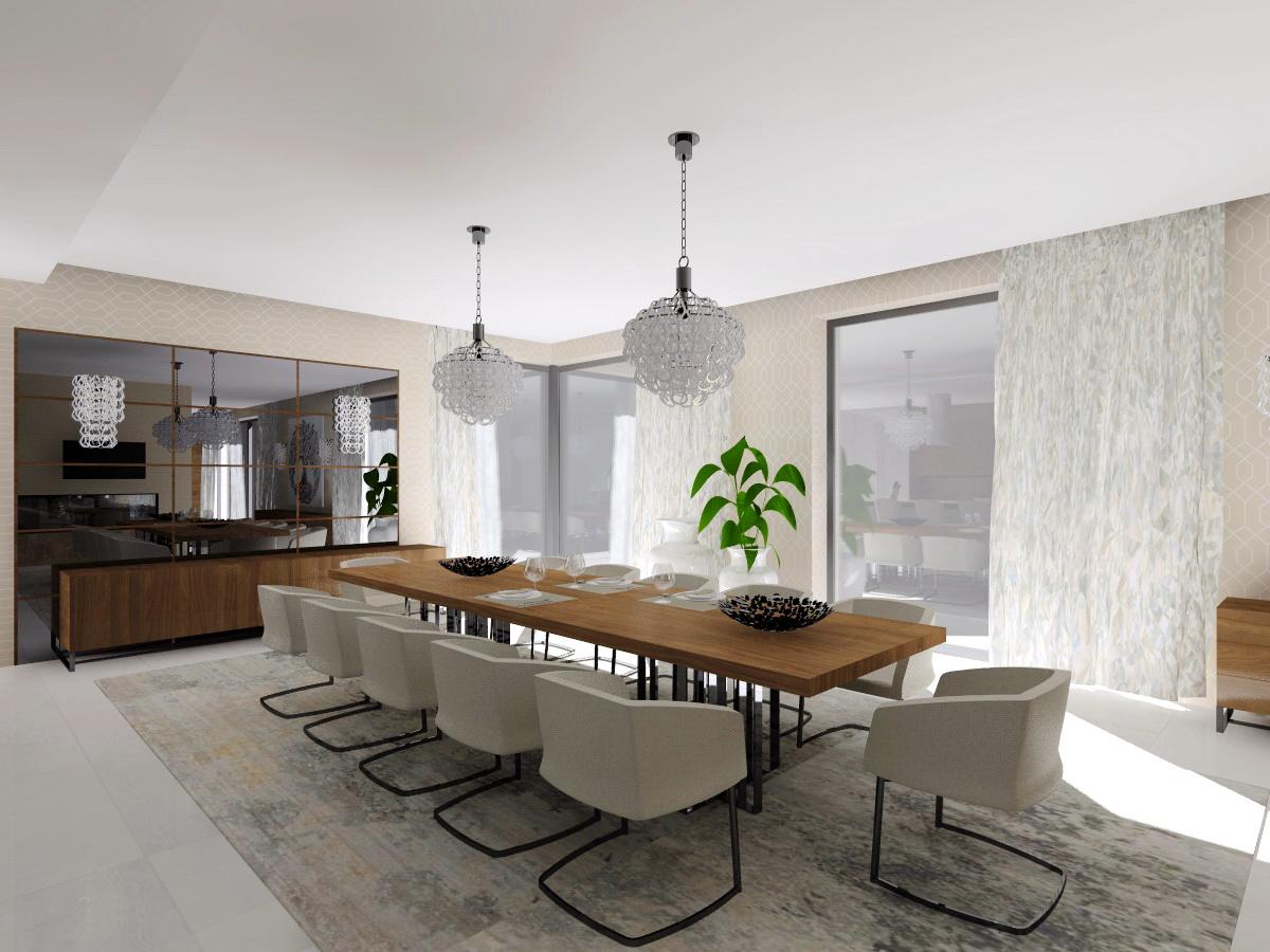 Šestajovice – interiér rodinného domu